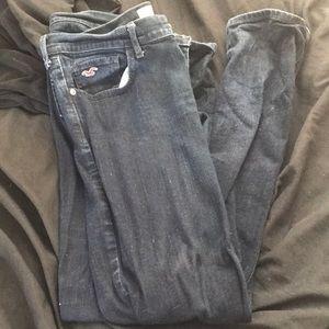 Hollister Jeans! Dark navy wash!
